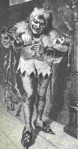 A 19th century impression of a court jester