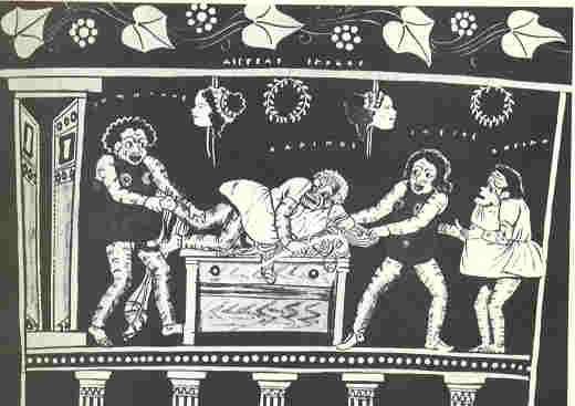 Ancient Greek Clowns
