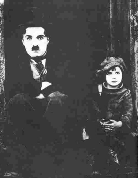 Charlie Chaplin in 'The Kid'