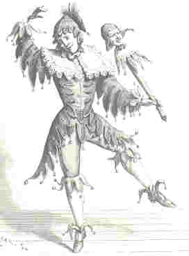 Jester impression from the 19th century