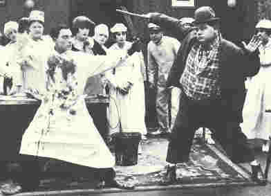 Buster Keaton and Fatty Arbuckle