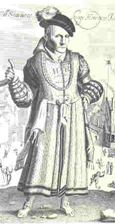 William Sommers, jester to King Henry the 8th