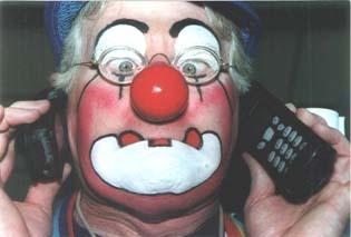 Clown Bluey