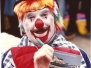 Clown Bluey's old photos from the 1980's
