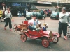 Bluey in the parade at Bolton with Eurocops Conk and Blanco, 2004