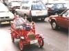 Chief Fire Officer Bluey in traffic un Utrecht, Netherlands