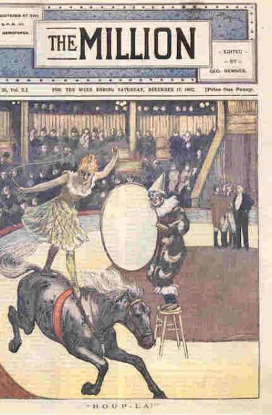 1892 circus clowns
