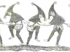 Jesters from a 13th century manuscript