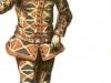 Original Italian harlequin in 13th century