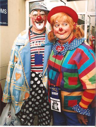 Clown Bluey with Shobi Dobi, USA