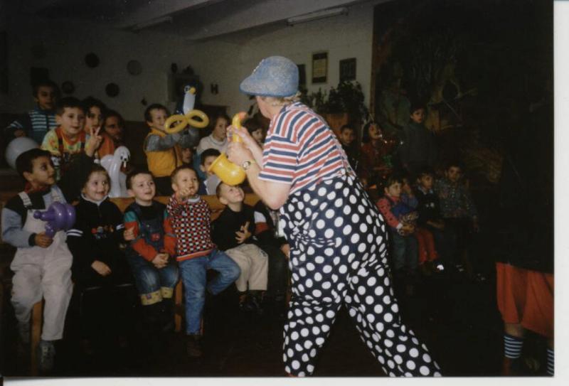 Romanian orphanage, 2003