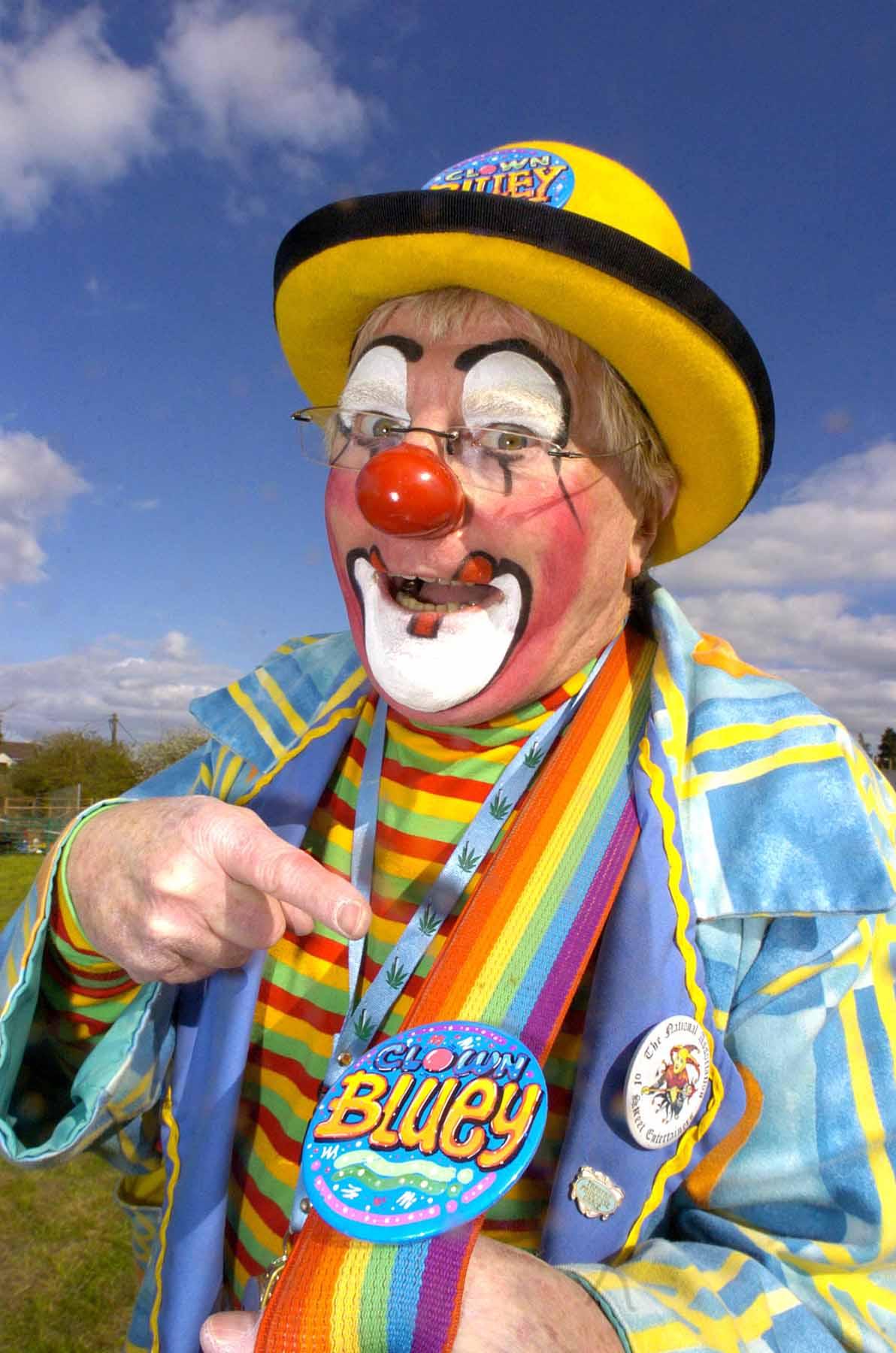 clown bluey laughter is god u0027s sunshine