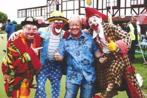 Clown Bluey with Conk, Cheggers & Rainbow, GMTV 2007
