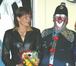 PC Bluey with Princess Stephanie of Monaco, 2006