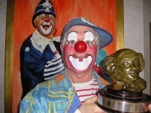 Clown Bluey with Silly Willy Award, 2003