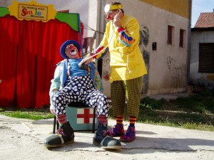 Conk and Bluey, Kosovo 2004
